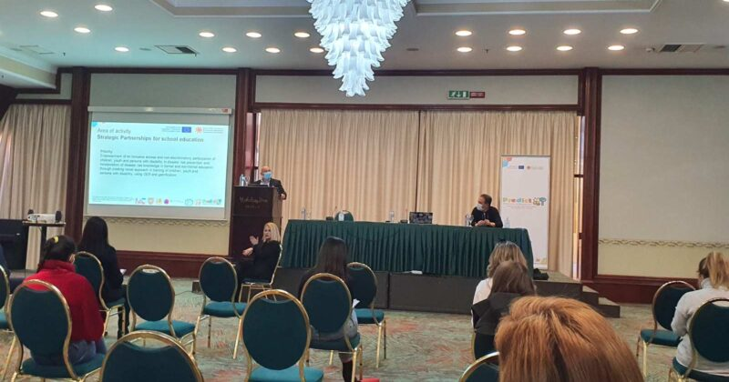 Presented results from Erasmus+ project PREDICT