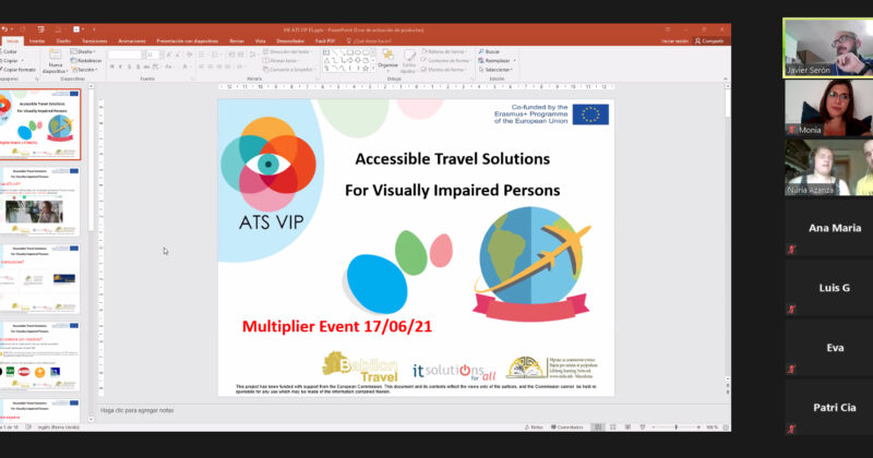 IT SOLUTIONS FOR ALL developed the Multiplier Event of ATS VIP project